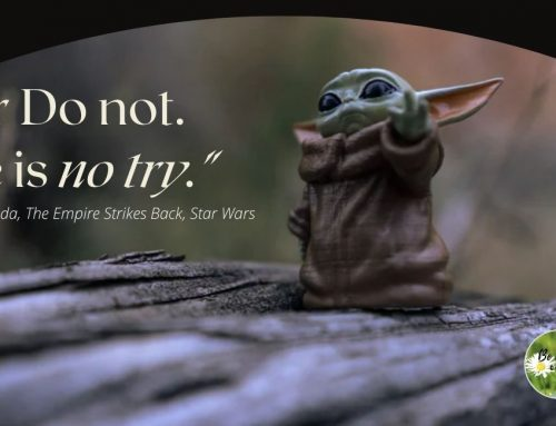 Do or Do Not. There is NO TRY!