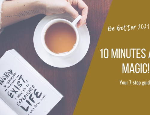Turn 10 minutes a day into Magic!