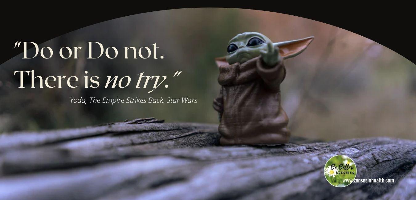只有做與不做,沒有嘗試!